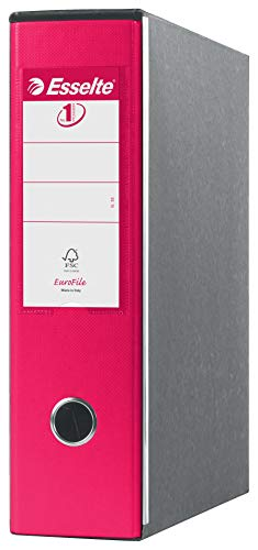ESSELTE G53 EUROFILE Registratore - f.to commerciale dorso 8 cm - Fucsia - 390753900