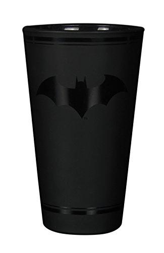 Paladone Batman Logo Glas, offizielles Lizenzprodukt DC Comics Merchandise 400ml