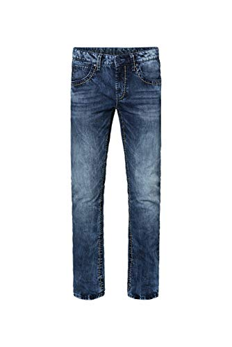 Camp David Herren Jeans NI:CO mit Bleaching-Effekten