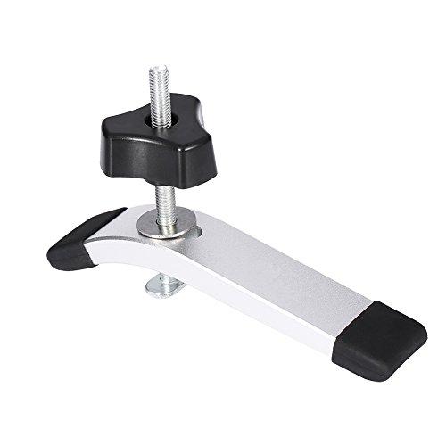 T-Track Clamp, 8mm Unten Klemme Set, T Nut Schnellspann Werkzeug für T-Slot T-Track DIY Holzbearbeitung (Ganze Klemmen Set)