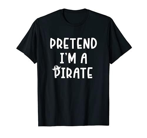 Disfraz de pirata para Halloween Camiseta