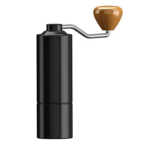 Młynek do kawy ze stali nierdzewnej, mały domowy wygodny butikowy ekspres do kawy ziarnistej, młynek do przypraw wielofunkcyjny czarny (kolor: czarny)