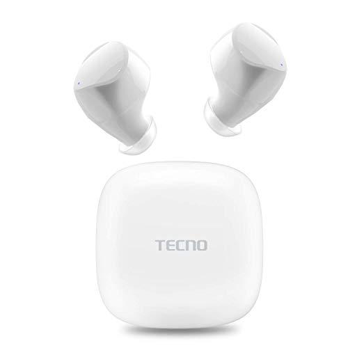 TECNO True Wireless Earbuds Noise Cancelling, Wireless Bluetooth...
