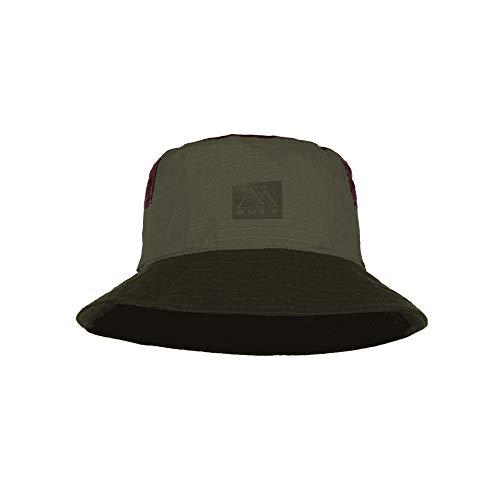 Buff Sun Bucket Hat, Hak Khaki, S/M