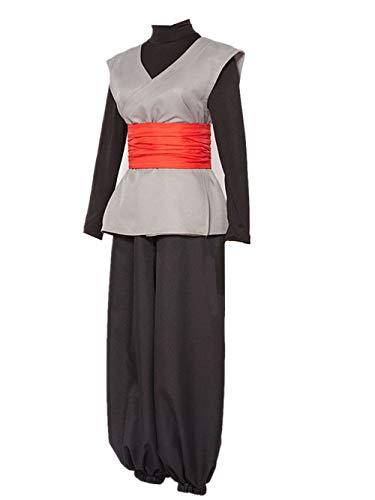 LVCOS Dragon Ball Super Son Goku Black Zamasu Kai Cosplay Costume Halloween (Male L)
