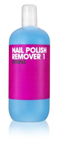 Salon systeem profiel blauw nagellak remover 1 500 ml