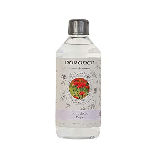 Durance - Fragancia para lámpara catalítica, aroma de amapolas, 500 ml, fabricado...