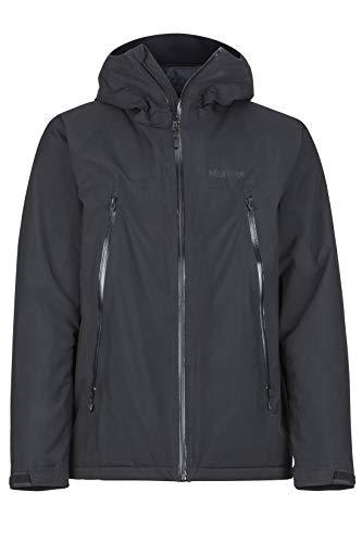 Marmot Herren Solaris Jacket, Hardshell Regenjacke, Winddicht, Wasserdicht, Atmungsaktiv, Black, M