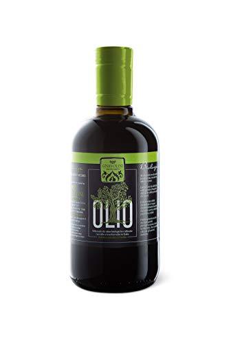 Olio Extravergine di Oliva BIOLOGICO 100 % Italiano Estratto a Freddo Bott. 500 ml. Blend Cultivar Leccino Frantoio ed altre (500)