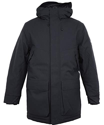 Cleptomanicx Parkistan Parka Jacket Phantom Black S