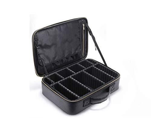 ADDG Trousse à Maquillage Trousse à Maquillage Portable multifonctionnelle Trousse à Maquillage pour Ongles,37 * 26 * 10