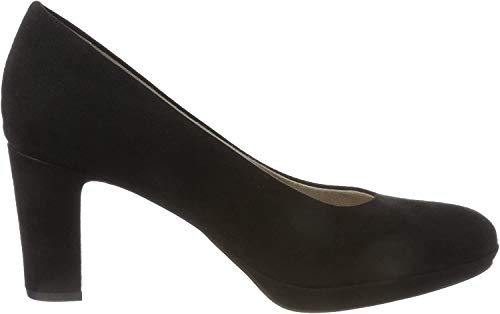 Tamaris Damen 22420 Pumps, schwarz, 40 EU