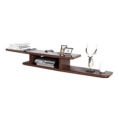 Household Opbergdozen, decoratieve opbergdozen, wandrek, wit, opbergdoos van massief hout, voor woonkamer, decoratie 150CM*22CM*14CM Bruin