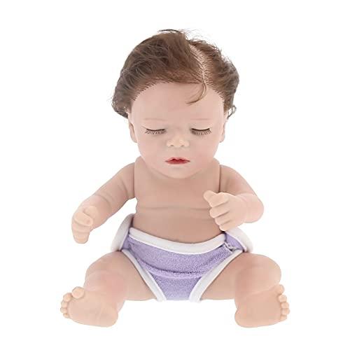 Doll Baby Doll Muñeca bebé renacida de vinilo de 12 pulgadas Juguete de la muñeca del bebé recién nacido Regalo de cumpleaños para niños Muñeca de bebé de la vida real Para niños de 3 4 5 6 7 años