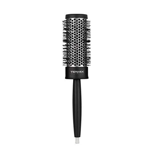 Termix Brosse à Cheveux Thermique Ronde Professionnelle avec Tube en Aluminium pour Retenir la Chaleur et Réduire le Temps de Séchage, Brosse de Coiffure Professionnelle, Diamètre 37mm