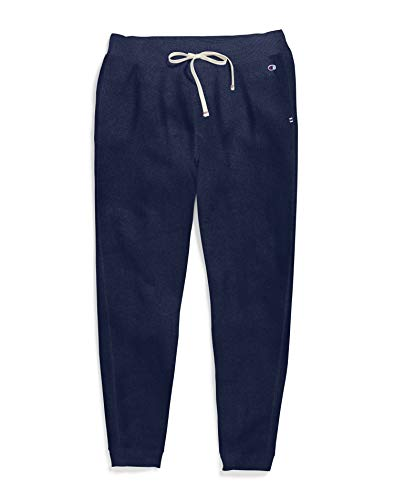 Champion Women's Plus Size Heritage French Terry Jogger, athletic navy, X Large