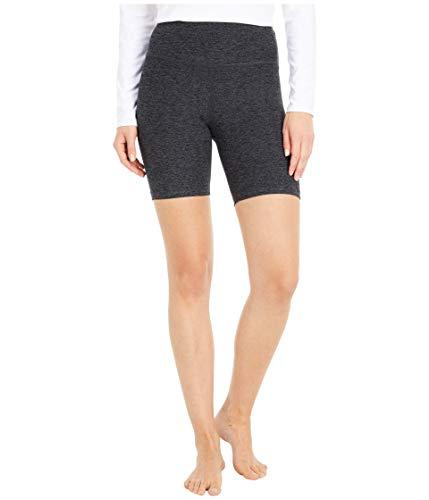 Beyond Yoga Womens Spacedye High Waisted Biker Shorts Black/Charcoal 2XS (US 0) 7