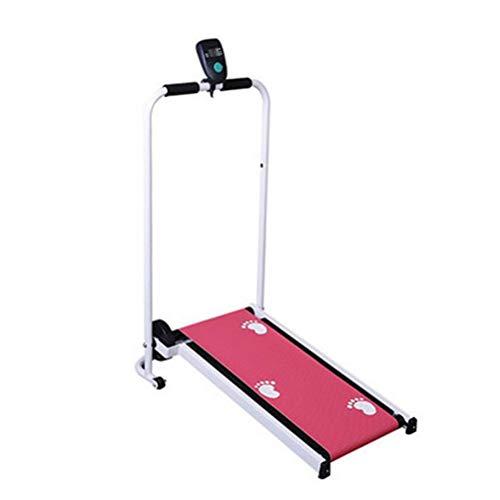 Treadmills Plegadora Caminar Portátil Mini Máquina Caminadora Mecánica Deportes De Interior En…