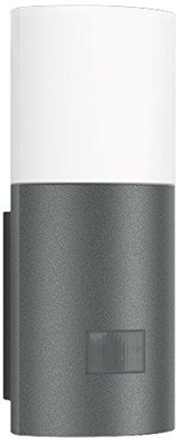 Steinel LED Wandleuchte L 900 LED anthrazit, 7 W Außenlampe, 180° Bewegungsmelder, max. 12 m Reichweite, Effeckt-Licht