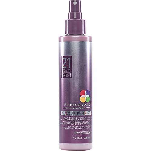 Pureology Colour Fanatic Leave-in Conditioner Hair Treatment Detangling Spray | Protects Hair...