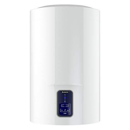 """Ariston Termo Eléctrico Lydos Eco Blu, Clase""""B"""" Calificación Energética ErP, Capacidad 100 Litros, Titanio Esmaltado, 230 V, Bajo Consumo y Emisiones Nocivas, 3201883."""