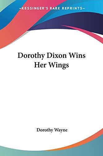 Dorothy Dixon Wins Her Wings