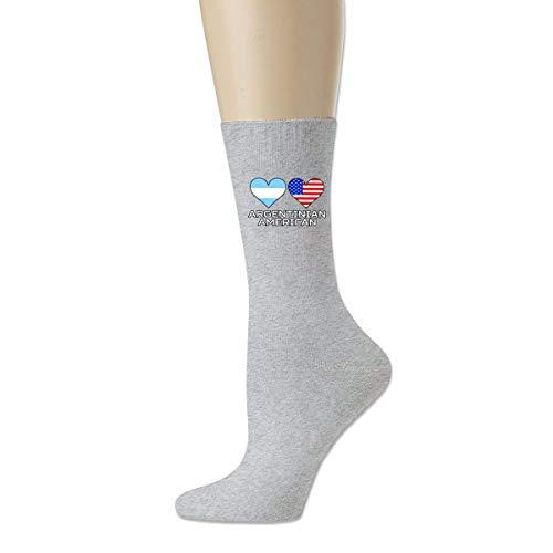 BEDKKJY Guess What Chicken Butt Calcetines Casuales de algodón para Hombre Calcetines de Novedad Crew Calcetines de Vestir