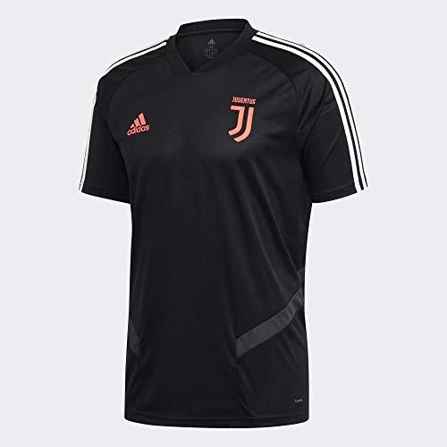 adidas Herren Juve Tr JSY Hemd, Schwarz/Grau, L