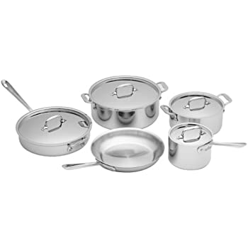 All-Clad Stainless 9-Piece Cookware Set