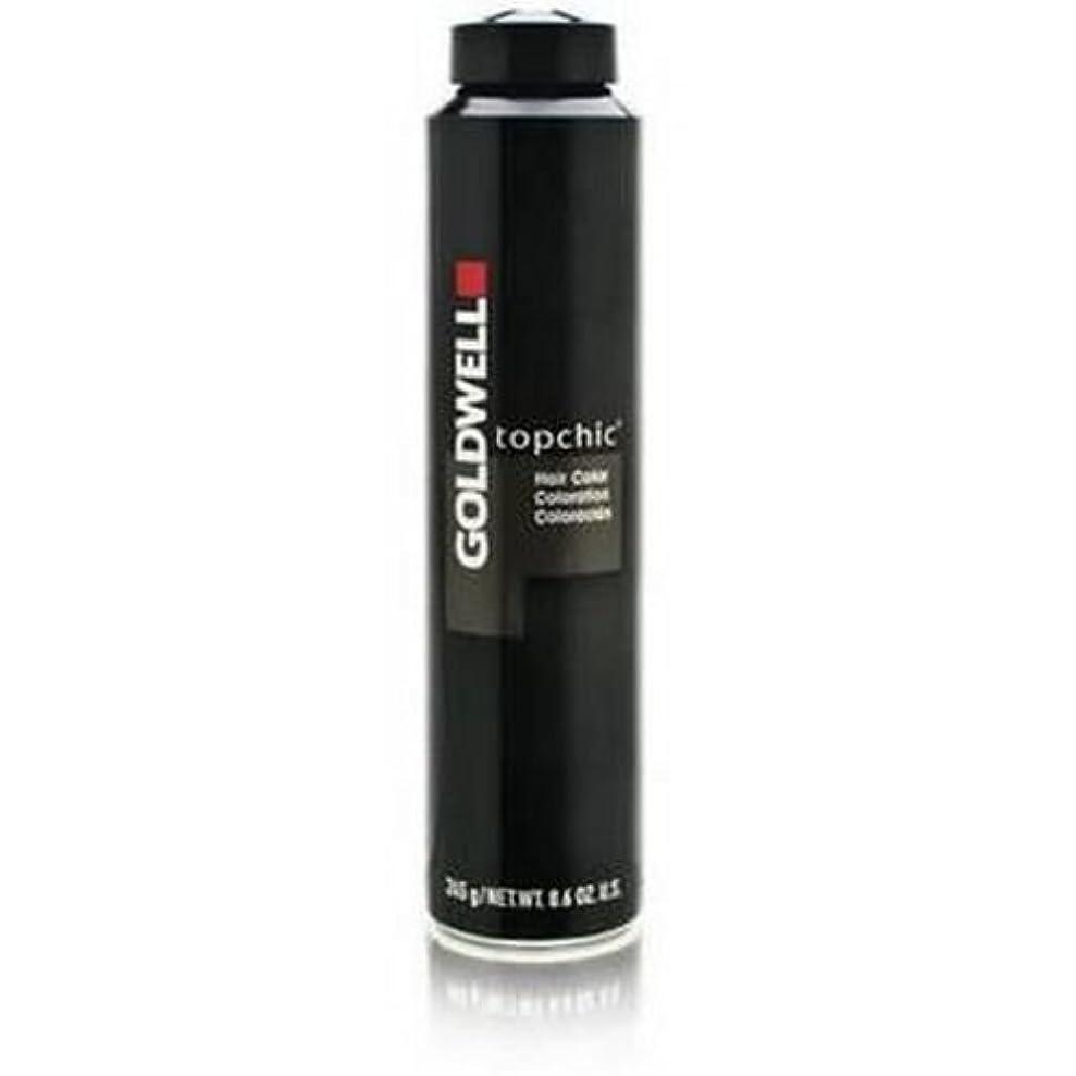 心配支給浴室Goldwell Topchic髪の色8.6オンス-7784 6rvマックスをキャニスタ 6rvマックス