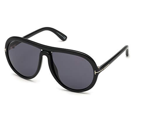Tom Ford CYBIL FT 0768 BLACK/SMOKE 60/16/135 Men Sunglasses