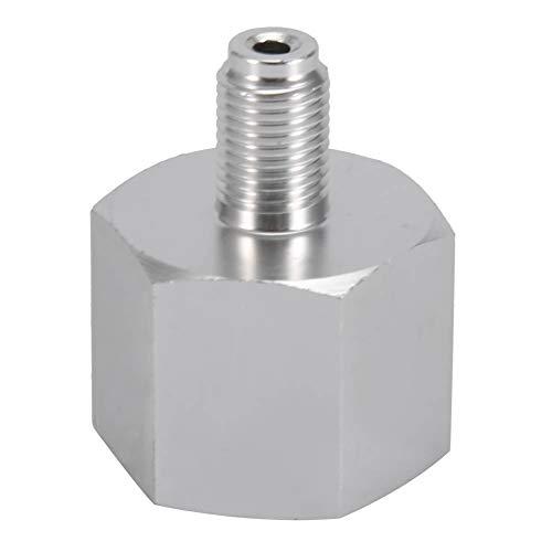 Weikeya Adaptador de CO2, regulador de Rosca de Entrada, Adaptador de Recarga de Cilindro de Grifo, Fabricado en aleación de Zinc