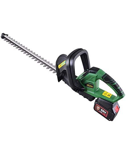 1yess Hedge Trimmer eléctrico, de Cobertura inalámbrica Cortador eléctrico cortacésped Recargable 68V...