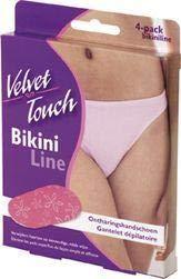 Velvet Touch Bikini Ontharingshandschoen, 4 Stuk