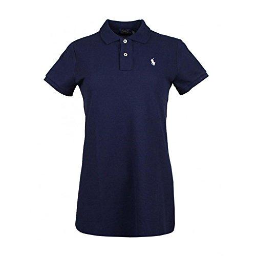 Ralph Lauren Damen Kleid Polo Mesh Fit (Navy, S)
