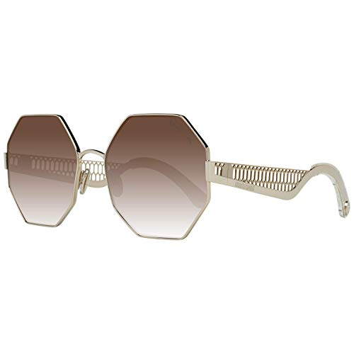 Roberto Cavalli Octagon Gafas de sol RC1107 32G dorado/transparente 60mm 1107