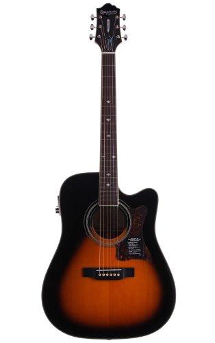 Epiphone DR-500MCE akustisch/elektrische Gitarre (Dreadnought), Vintage Sunburst
