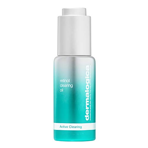 Dermalogica Retinol Clearing Oil (1 Fl Oz) Face Serum with Salicylic Acid - Anti-Aging Acne Treatment That Delivers Clearer, Vibrant Skin by Morning
