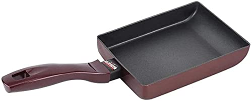 CJDM Japanese Omelette Non-Stick Pan Aluminium Frying Pan Square Non-Stick pan for Pancake and Fried Egg