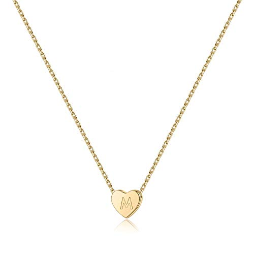 (50% OFF) Initial Heart Necklace $6.00 – Coupon Code