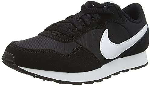 Nike Unisex-Kinder Md Valiant Sneaker, Black/White, 35 EU