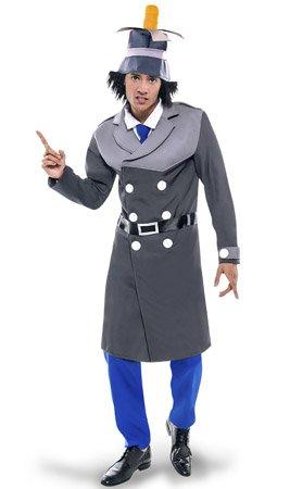 CRAZY THE PARTY Disfraz de Inspector Gadget Adulto XL