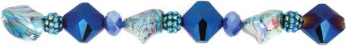 Jesse James 15 364,5 cm Atlantis # 2,5 cm Perle brins Multicolore
