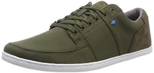 Boxfresh Herren Spencer Sneaker, Grün (Khaki Khk), 40 EU