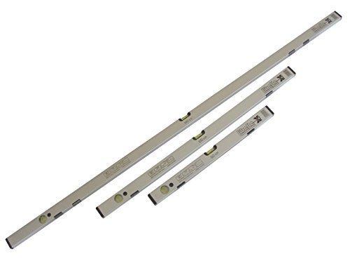 Wasserwaagen Set - 60/100/180 cm magnetisch - mit hoher Genauigkeit (0,5mm/1m)