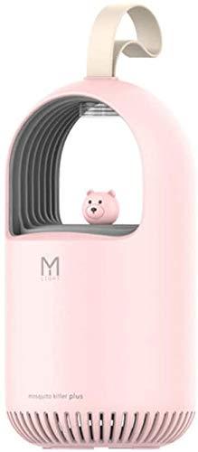 2020 Nieuwe USB Cute Bear Anti-mug Lamp Huis van de Baby Physical muggen Kan toevoegen muggenmelk,Pink