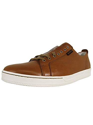 Mobils Ergonomic Mens Alenzo Lace Up Oxford Sneaker Shoes, Desert, US 12