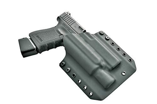 LIGHTBEARING OWB Holster for Glock 17 with SUREFIRE X300...
