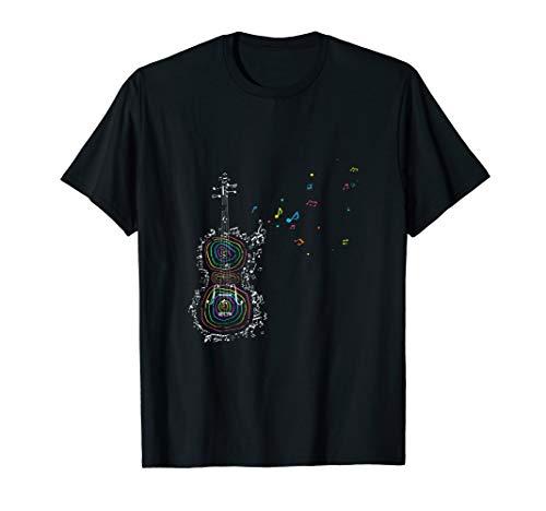 Streichinstrument Musikinstrument Violinist Geige T-Shirt