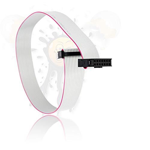Androegg IDC seriell Kabel 14 polig Adapter für ISP USBASP AVR TPI JTAG openOCD 300mm